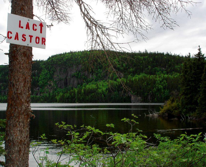 Pourvoirie Club Paradis Sauvage | Paysage | Lac Castor