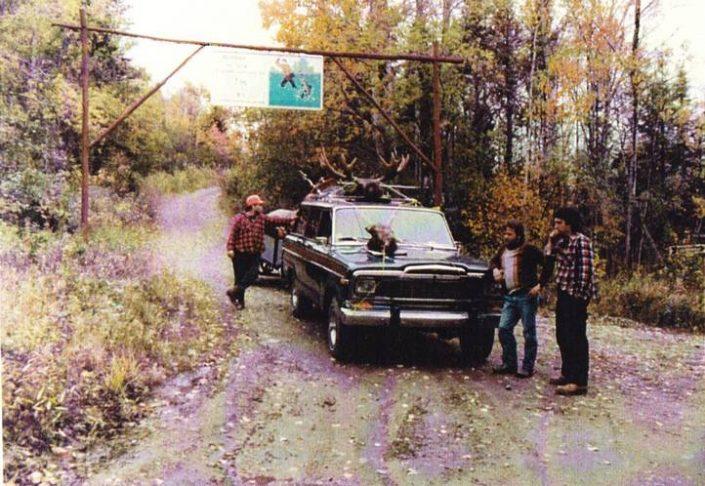 Club Paradis Sauvage | Archives | Lac Paul 1985
