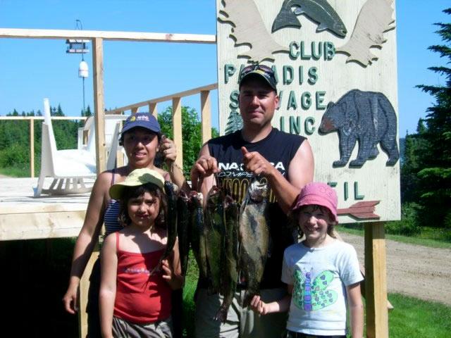 Club Paradis Sauvage | Pêche
