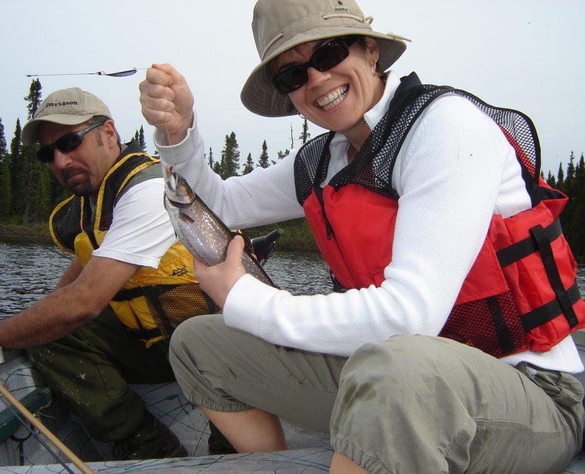 Pourvoirie Club Paradis Sauvage | Pêche